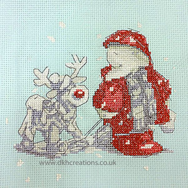 Humphreys Corner Christmas Humphrey And Rudolph Cross Stitch Kit